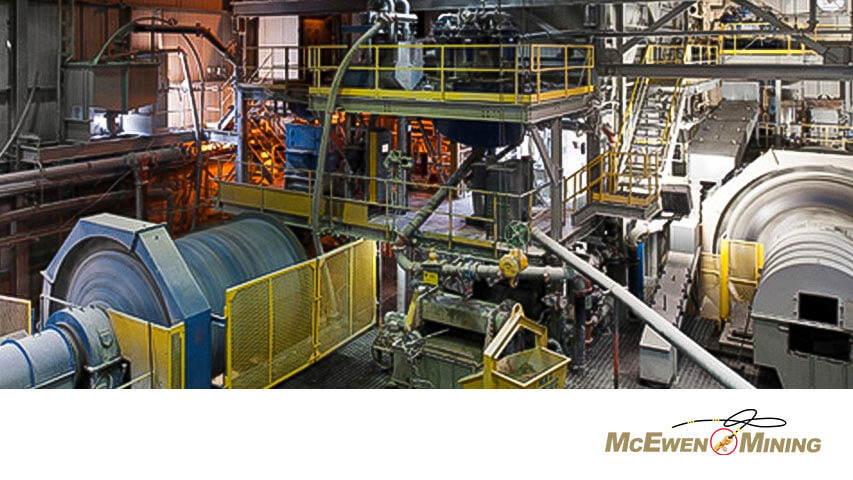 McEwen Mining Mill Induction