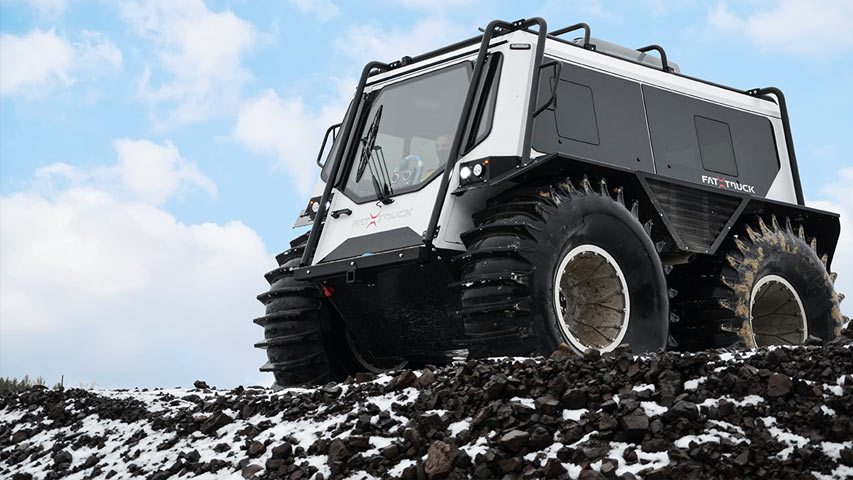 Off-Road Vehicle Training - Fat Truck Level 1