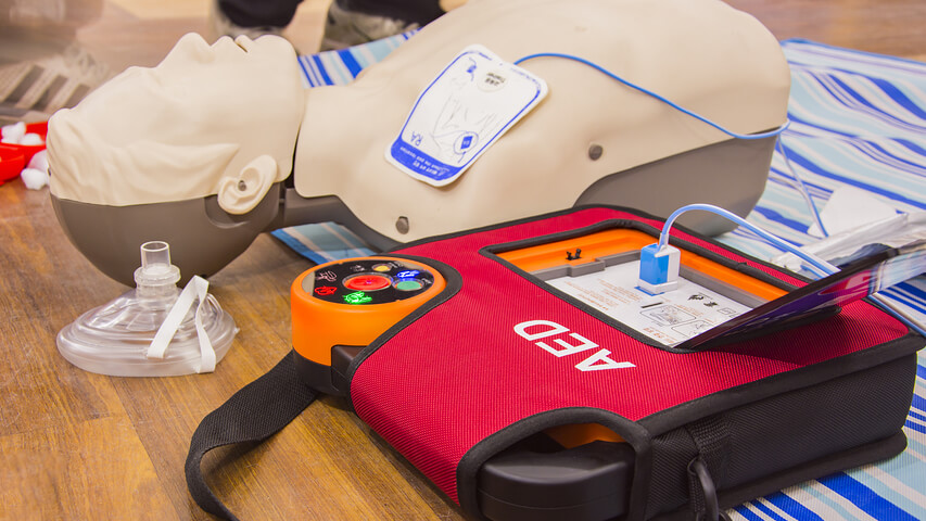 First Aid - Standard First Aid Level A & C (AED/CPR)