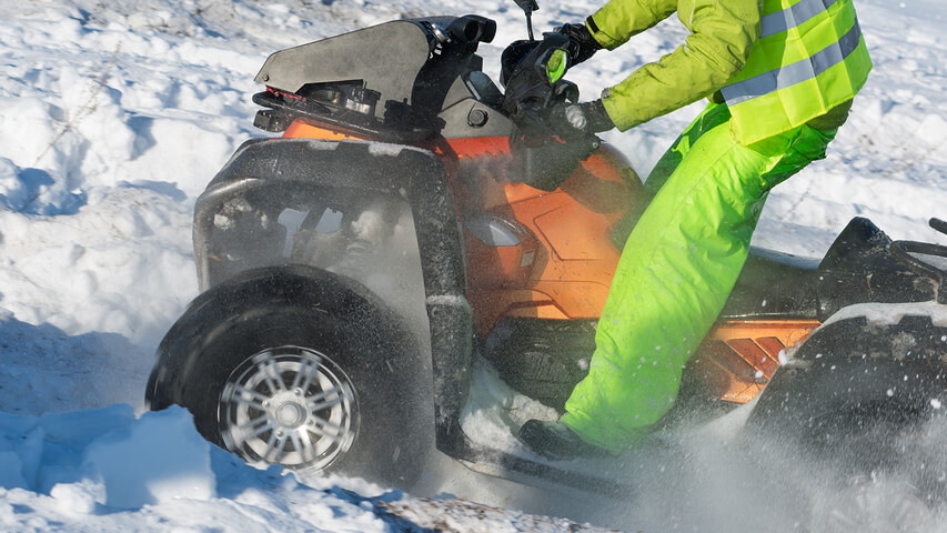 Off-Road Vehicle Training - ATV Rider