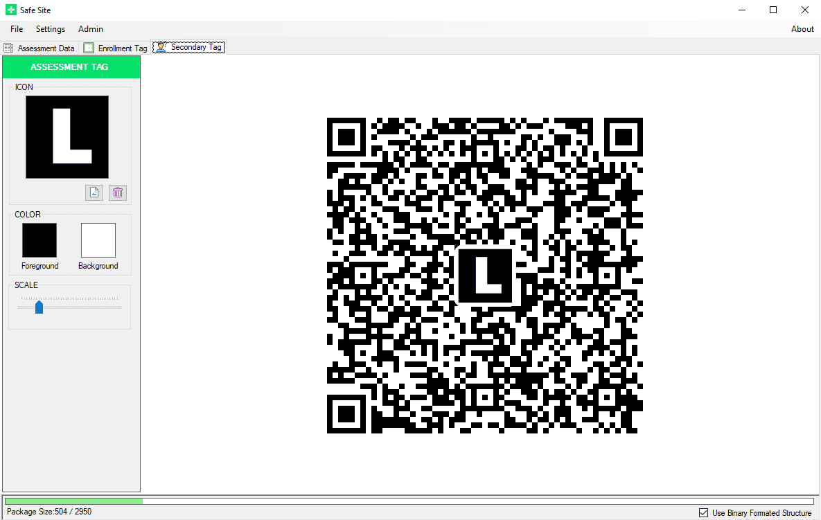 Safe Site - Log Tags (L-TAG)