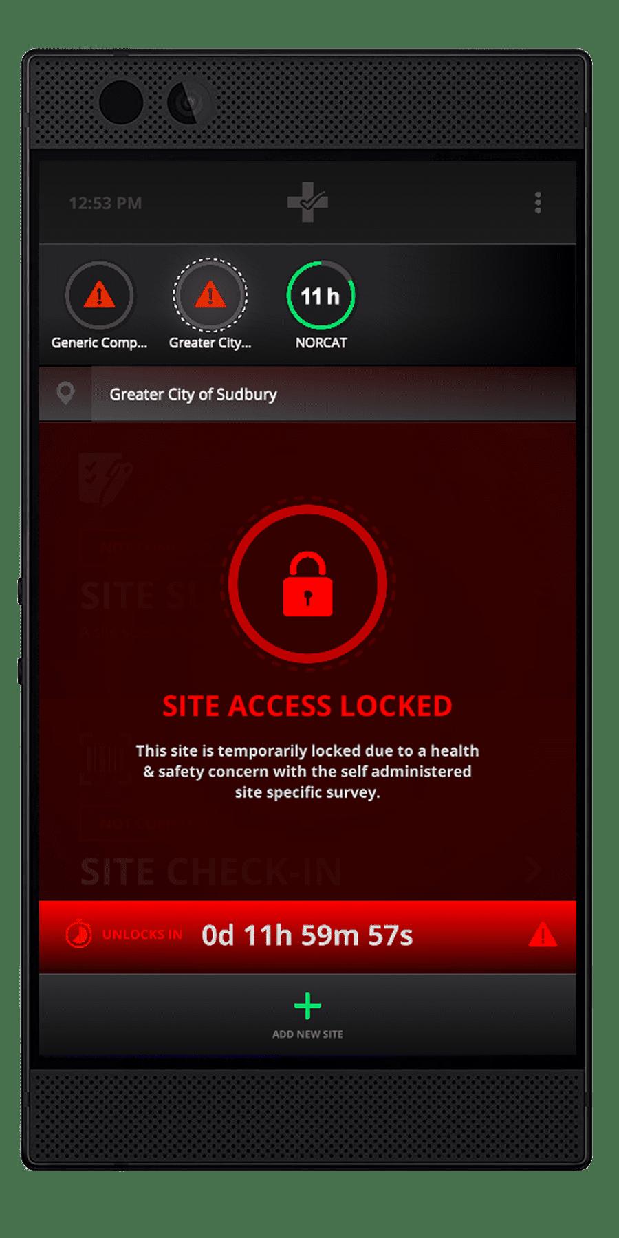 Safe Site - Site Safety Lockouts