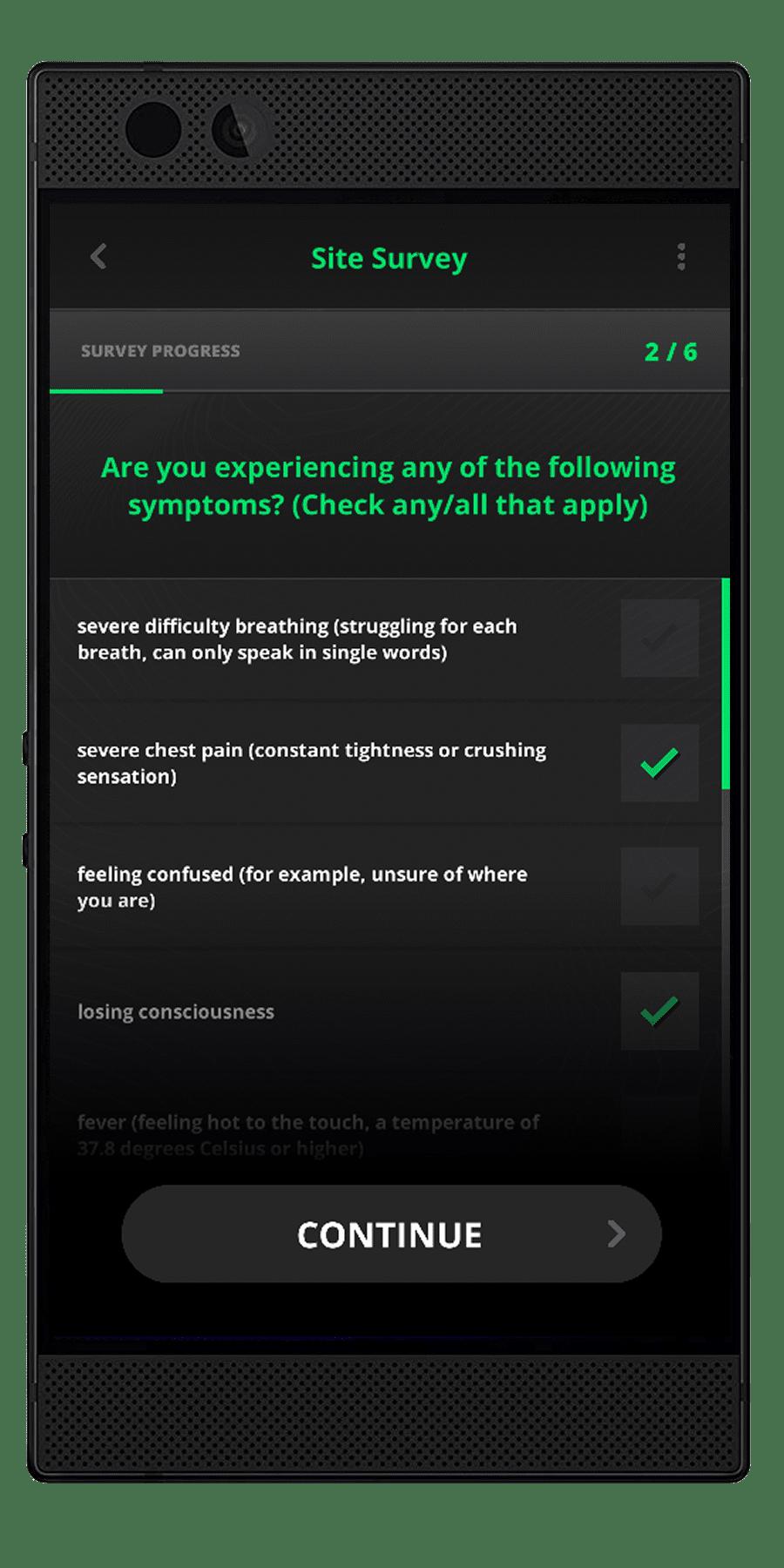 Safe Site - Self Administered Surveys