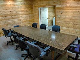 NORCAT Underground Centre Boardroom